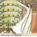 (couverture de Sechs Gesänge op. 13 – Fünf Gesänge – Lieder eines fahrenden Gesellen)