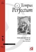 (couverture de L'éducation musicale de Louis XV)