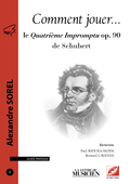 (couverture de Le Quatrième Impromptu de Schubert)