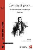 (couverture de La Troisième Consolation de Liszt)