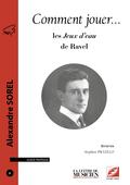 (couverture de les Jeux d'eau de Maurice Ravel)