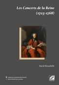 couverture de Les Concerts de la Reine (1725-1768)