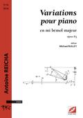 (couverture de Variations pour piano)