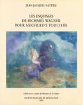 (couverture de Les Esquisses de Richard Wagner pour «Siegfried's Tod» (1850))