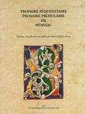 (couverture de Tropaire séquentiaire prosaire prosulaire de Moissac)