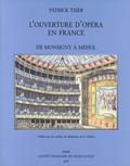 couverture de L'Ouverture d'opéra en France