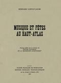 couverture de Musique et fêtes au Haut-Atlas