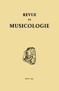 couverture de Revue de musicologie, t. 24/1 (1941)