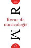 (couverture de Revue de musicologie, t. 94/2 (2008))