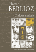 (couverture de Critique musicale, volume 7 : 1849-1851)