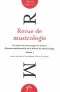 (couverture de Revue de musicologie, t. 104/1-2 (2018))