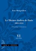 (couverture de Le Théâtre-Italien de Paris (1801-1831))