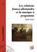 (couverture de Les relations franco-allemandes et la musique à programme)
