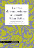 (couverture de Lettres de compositeurs à Camille Saint-Saëns)