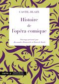 (couverture de Histoire de l'opéra-comique)