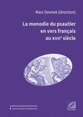 (couverture de La Monodie du psautier en vers français au xviie siècle)