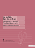 couverture de Le Chant des possibles
