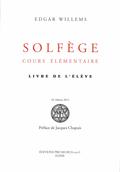 couverture de Solfège, cours élémentaire. Livre de l'élève