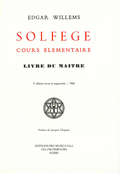 couverture de Solfège, cours élémentaire. Livre du Maître