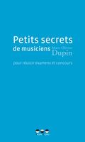 (couverture de Petits secrets de musiciens)