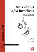 (couverture de Trois chants afro-brésiliens)