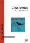 (couverture de Cinq Poésies de Georges Schehadé)