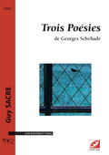 (couverture de Trois Poésies de Georges Schehadé)
