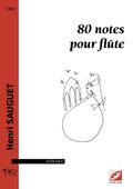 (couverture de 80 notes pour flûte)