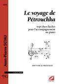 (couverture de Le voyage de Pétrouchka)