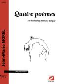 (couverture de Quatre poèmes)