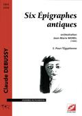 (couverture de Six Épigraphes antiques)