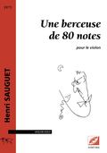 (couverture de Une berceuse de 80 notes)