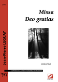 (couverture de Missa Deo gratias)