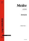 (couverture de Entracte de Médée)
