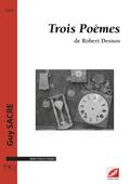 (couverture de Trois Poèmes de Robert Desnos)