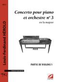 (couverture de Concerto pour piano et orchestre n°3)