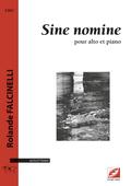 (couverture de Sine nomine)
