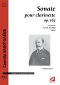 (couverture de Sonate pour clarinette op. 167)