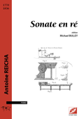 (couverture de Sonate en ré)