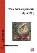 (couverture de Deux Poèmes français de Rilke)
