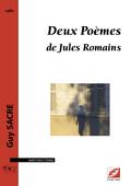 (couverture de Deux Poèmes de Jules Romains)