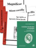 (couverture de Livre + 4 partitions: Magnificat I toni, Missa cortilla, Ego infelix peccator, In diebus illis & Apostoli Christi Jacobe)