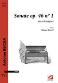 (couverture de Sonate en sol majeur op.46, n°1)