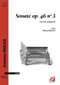 (couverture de Sonate en mi majeur op.46, n°3)
