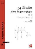 (couverture de 34 Études dans le genre fugué op. 97)