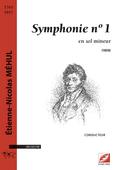(couverture de Symphonie n° 1)