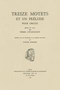 couverture de Treize Motets et un prélude pour orgue