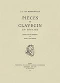 couverture de Pièces de clavecin en sonates avec accompagnement de violon