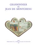 (couverture de Chansonnier de Jean de Montchenu)