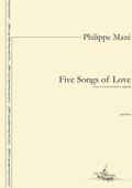 (couverture de Five Songs of Love)